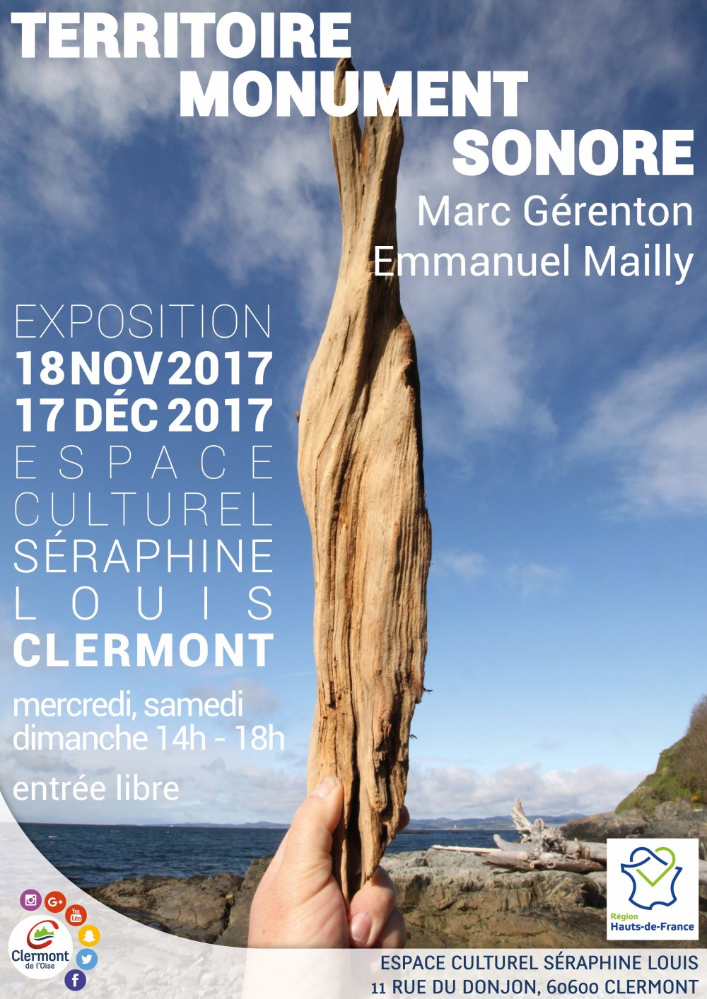 MONUMENT TERRITOIRE SONORE - EXPOSITION - AFFICHE - V2-1